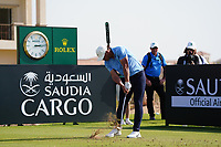 Brooks Koepka (USA) on the 11th during Round 1 of the Saudi International at the Royal Greens Golf and Country Club, King Abdullah Economic City, Saudi Arabia. 30/01/2020<br /> Picture: Golffile | Thos Caffrey<br /> <br /> <br /> All photo usage must carry mandatory copyright credit (© Golffile | Thos Caffrey)