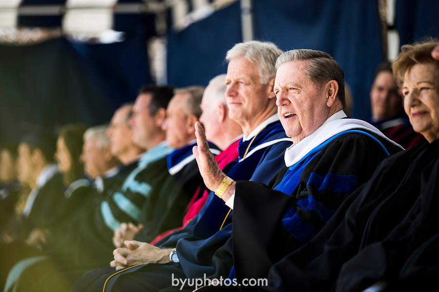 _E1_7097<br /> <br /> 1704-51 2017 Spring Commencement<br /> <br /> April 27, 2017<br /> <br /> Photography by Nate Edwards/BYU<br /> <br /> &copy; BYU PHOTO 2016<br /> All Rights Reserved<br /> photo@byu.edu  (801)422-7322