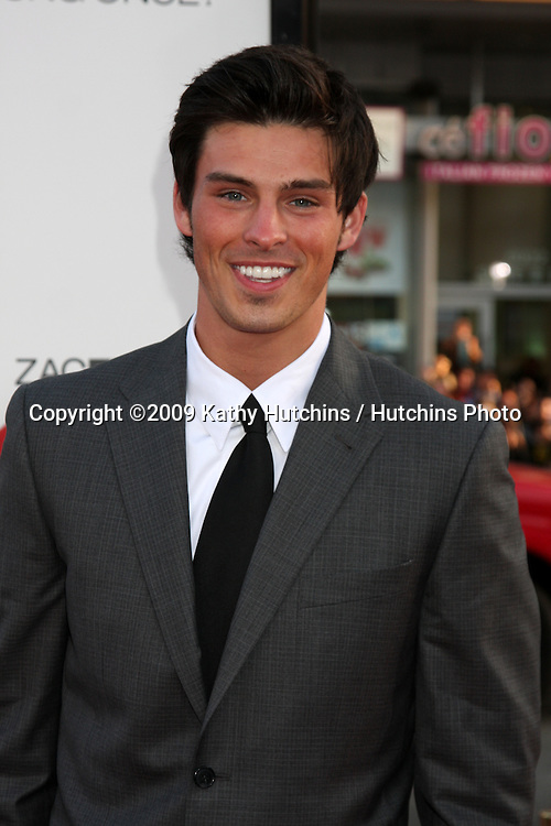 Adam Gregory  arriving at the 17 Again Premiere at Grauman's Chinese Theater in Los Angeles, CA on April 14, 2009.©2009 Kathy Hutchins / Hutchins Photo....                .