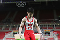 Kohei Uchimura (JPN), <br /> AUGUST 3, 2016 - Artistic Gymnastics : <br /> Men's Official Training <br /> Pommel Horse <br /> at Rio Olympic Arena <br /> during the Rio 2016 Olympic Games in Rio de Janeiro, Brazil. <br /> (Photo by YUTAKA/AFLO SPORT)