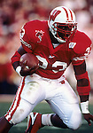 Pasadena - JANUARY 1, 2000: Running back Ron Dayne carries the ball during the 2000 Rose Bowl against the Stanford Cardinal in Pasadena, California on January 1, 2000. (Photo by David Stluka)