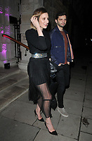 Laura Carmichael and Michael C. Fox at the George Michael Collection VIP private view &amp; reception, Christie's London, King Street Saleroom, King Street, London, England, UK, on Tuesday 12th March 2019.<br /> CAP/CAN<br /> &copy;CAN/Capital Pictures