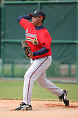 March 23rd 2008:  Gonzalo Lopez of the Atlanta Braves minor league system during Spring Training at Disney's Wide World of Sports in Orlando, FL.  Photo by:  Mike Janes/Four Seam Images