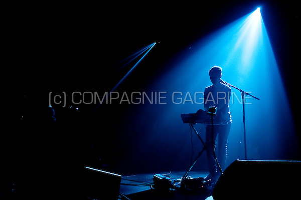 Belgian electronic music band Goose in concert in the Ancienne Belgique, Brussels (Belgium, 12/02/2011)