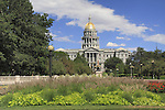 Colorado State Capitol and Civic Center Park, Denver Colorado, USA. .  John offers private photo tours in Denver, Boulder and throughout Colorado. Year-round Colorado photo tours.