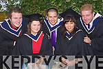 Joseph Burkett, Sarah McQuinn, Adam Twoomey, Debbie Marks and Daniel Sullivan who graduated with a Bachelor of Business in Tourism at the Autumn graduations which took place at the Brandon hotel on Friday.