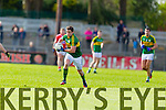Stephen O'Brien Kerry in action against  Cork in the National Football League at Pairc Ui Rinn, Cork on Sunday.