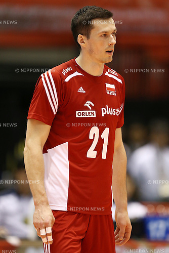 Rafal Buszek (POL),<br /> MAY 29, 2016 - Volleyball :<br /> Men's Volleyball World Final Qualification for the Rio de Janeiro Olympics 2016<br /> match between France 2-3 Poland<br /> at Tokyo Metropolitan Gymnasium, Tokyo, Japan.<br /> (Photo by Shingo Ito/AFLO SPORT)