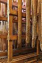 01/12/14 - PARLAN - CANTAL - FRANCE - Entreprise de salaisons LABORIE. Sechage des rosettes - Photo Jerome CHABANNE