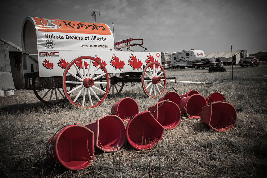 Chad Harden Chuckwagon at Strathmore Stampede