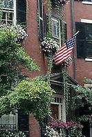 Louisburg Square, Beacon Hill, Boston, MA