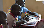 Students learn in class in the Loreto Primary School in Rumbek, South Sudan. The Loreto Sisters began a secondary school for girls in 2008, with students from throughout the country, but soon after added a primary in response to local community demands.