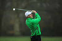 Alex Maguire (Laytown &amp; Bettystown) during the final round of the Peter McEvoy Trophy played at Copt Heath Golf Club, Solihull, England. 12/04/2018.<br /> Picture: Golffile | Phil Inglis<br /> <br /> <br /> All photo usage must carry mandatory copyright credit (&copy; Golffile | Phil Inglis)