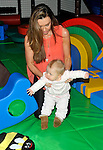 Michelle Heaton and faith  visiting ZSL Whipsnade Zoo on Wednesday 24 October 2012  to launch Hullabazoo - the Zoo's brand new adventure play centre.