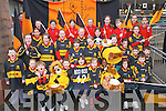ALL ABOARD: Exicited Dr Crokes fans who are preparing to travel to Dublin to cheer on their heroes in Croke Park on St Patricks Day..