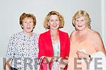 Kathleen Dwyer, Mary Dillane and Patricia Travers Killorglin at the Daniel O'Donnell concert in the INEC on Tuesday night