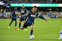 San Jose, CA - Saturday, March 04, 2017: Chris Wondolowski prior to a Major League Soccer (MLS) match between the San Jose Earthquakes and the Montreal Impact at Avaya Stadium.