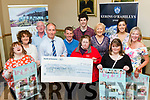 Be Inspired<br /> ----------------<br /> One of the beneficiaries of the Kerin's O'Rahilly's GAA club, Tralee, Strictly Come Dancing night, were, Inspired, a Tralee based group helping to enhance the lives of intellectually challenged adults. They were presented with a cheque for &euro;500 last Friday night at the clubhouse, L-R Sinead Joy, Yvonne O'Brien, Pat Falvin, Halie Kerins, Donie O'Keeffe, Kerri O'Mahony, Domanic Rollo, Fran Malone-Finucane, Labhaoise O'Connor, Rosie McGrath&amp; Maree O'Connor