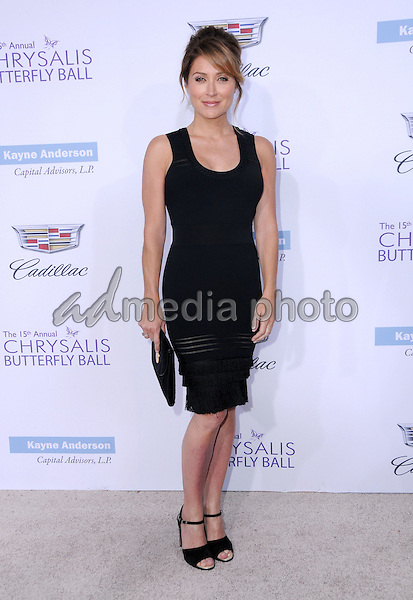 11 June 2016 - Los Angeles. Sasha Alexander. Arrivals for the 15th Annual Chrysalis Butterfly Ball held at a Private Mandeville Canyon Residence. Photo Credit: Birdie Thompson/AdMedia
