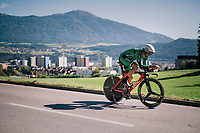 Nicolas Roche (IRE/BMC)<br /> <br /> MEN ELITE INDIVIDUAL TIME TRIAL<br /> Hall-Wattens to Innsbruck: 52.5 km<br /> <br /> UCI 2018 Road World Championships<br /> Innsbruck - Tirol / Austria