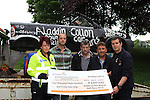 Raft race cheque 2012