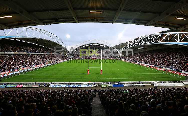 Picture by Alex Whitehead/SWpix.com - 29/10/16 - Rugby League - 2016 Ladbrokes Four Nations - England v New Zealand - The John Smith's Stadium, Huddersfield, England - A General View (GV).
