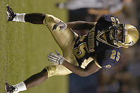 3 September 2005:  Darrelle Revis...Notre Dame defeated Pittsburgh 42-21 September 3, 2005 at Heinz Field in Pittsburgh, PA..