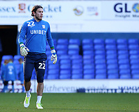 Preston North End's Chris Maxwell during the pre-match warm-up <br /> <br /> Photographer David Shipman/CameraSport<br /> <br /> The EFL Sky Bet Championship - Ipswich Town v Preston North End - Saturday 3rd November 2018 - Portman Road - Ipswich<br /> <br /> World Copyright &copy; 2018 CameraSport. All rights reserved. 43 Linden Ave. Countesthorpe. Leicester. England. LE8 5PG - Tel: +44 (0) 116 277 4147 - admin@camerasport.com - www.camerasport.com