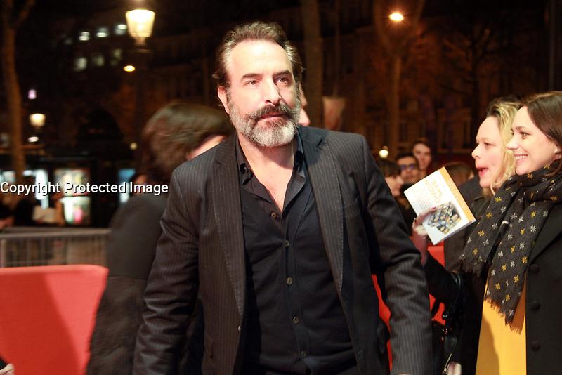 Jean Dujardin - Avant-premiËre du film 'Chacun sa vie' ‡ Paris, le 13/03/2017.