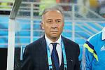 Alberto Zaccheroni (JPN), <br /> JUNE 19, 2014 - Football /Soccer : <br /> 2014 FIFA World Cup Brazil <br /> Group Match -Group C- <br /> between Japan 0-0 Greece <br /> at Estadio das Dunas, Natal, Brazil. <br /> (Photo by YUTAKA/AFLO SPORT)