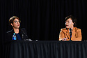Mayoral candidates Desiree Charbonnet and Latoya Cantrell debate at Xavier University, sponsored by AARP.