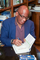 Al Roker signs his memoir, Never Goin Back: Winning the Weight Loss Battle for Good, at Books & Books, Coral Gables, FL, on February 22, 2013