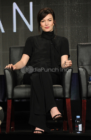 2015 FX WINTER TCA: Cast Member Britt Lower during the MAN SEEKING WOMAN panel at the 2015 FX WINTER TCA on Sunday, Jan. 18 at the Langham Hotel in Pasadena CA.  Credit: PGFM/MediaPunch