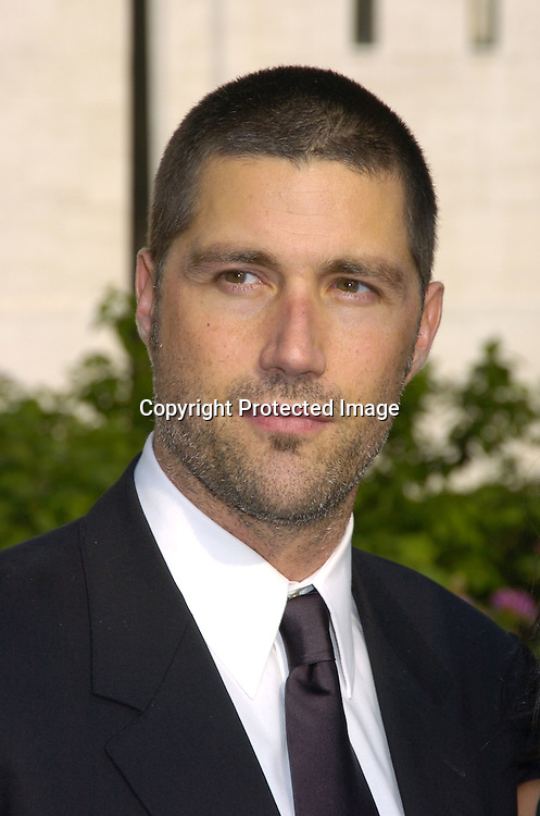Matthew Fox of Lost ..at The ABC Upfront Announcement of Their Fall Schedule on May 17, 2005 at Lincoln Center...Photo by Robin Platzer, Twin Images