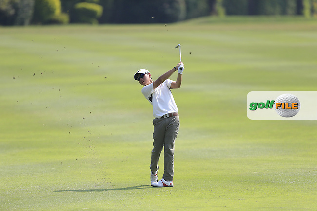 Terrence NG (AM) on the 17th fairway during Round 2 of the 2015 UBS Hong Kong Open at the Hong Kong Golf Club in Hong Kong on Friday 23/10/15.<br /> Picture: Thos Caffrey | Golffile