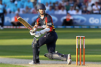 James Foster in batting action for Essex - Essex Eagles vs Sussex Sharks - Friends Life T20 Cricket at the Ford County Ground, Chelmsford, Essex - 28/06/12 - MANDATORY CREDIT: Gavin Ellis/TGSPHOTO - Self billing applies where appropriate - 0845 094 6026 - contact@tgsphoto.co.uk - NO UNPAID USE.