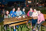 Open Air Cinema: Pictured  at the Open Air Cinema near McMunn's Bar & Restaurant in Ballybunion on Friday night last were Ryan McEvoy, Darragh King, Kieran McGovern, Jack McEvoy, Rosie King, Francine McEvoy & Orla McEvoy.