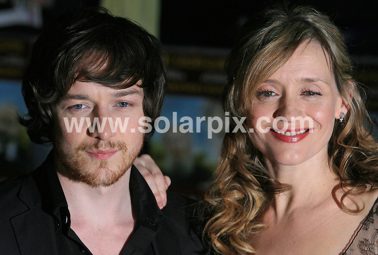 """**ALL ROUND PICTURES FROM SOLARPIX.COM**.**WORLDWIDE SYNDICATION RIGHTS**.Arrivals at the UK premiere of """"The Last Station"""" at The Curzon Mayfair in London on Tuesday 26 January 2010.This pic:   Anne-Marie Duff and James McAvoy.JOB REF:  10551    LNJ     DATE:   26.01.10.**MUST CREDIT SOLARPIX.COM OR DOUBLE FEE WILL BE CHARGED**.**MUST NOTIFY SOLARPIX OF ONLINE USAGE**.**CALL US ON: +34 952 811 768 or LOW RATE FROM UK 0844 617 7637**"""