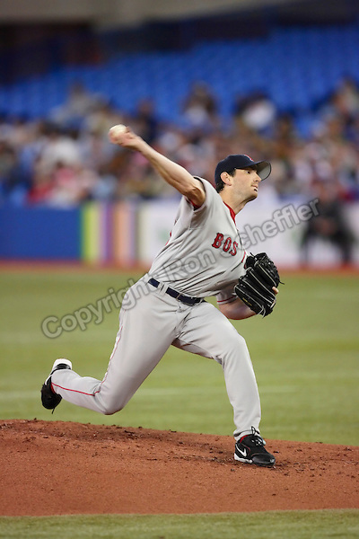 Apr 23, 2006; Toronto, ON, CAN; Boston Red Sox pitcher (30) Matt Clement pitches against the Toronto Blue Jays at the Rogers Centre in Toronto, ON. Mandatory Credit: Ron Scheffler-US PRESSWIRE Copyright © Ron Scheffler