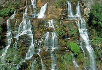 Waterfall Almecegas 1, Chapada dos Veadeiros, Goias, Brazil.