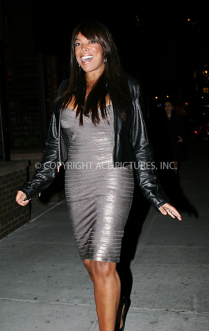 WWW.ACEPIXS.COM . . . . .  ....January 20 2010, New York City....TV personality Wendy Williams seen in the Meatpacking District on January 20 2010 in New York City....Please byline: NANCY RIVERA- ACE PICTURES.... *** ***..Ace Pictures, Inc:  ..tel: (212) 243 8787 or (646) 769 0430..e-mail: info@acepixs.com..web: http://www.acepixs.com