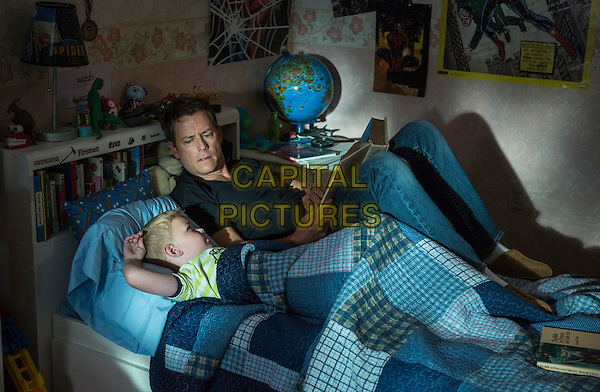 Connor Corum, Greg Kinnear<br /> in Heaven Is for Real (2014) <br /> *Filmstill - Editorial Use Only*<br /> CAP/FB<br /> Image supplied by Capital Pictures