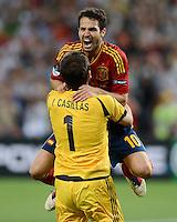 Fussball EURO 2012 Halbfinale: Portugal - Spanien