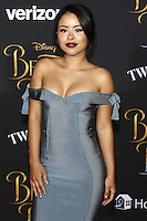 www.acepixs.com<br /> <br /> March 2 2017, LA<br /> <br /> Cierra Ramorez arriving at the premiere of Disney's 'Beauty And The Beast' at the El Capitan Theatre on March 2, 2017 in Los Angeles, California.<br /> <br /> By Line: Famous/ACE Pictures<br /> <br /> <br /> ACE Pictures Inc<br /> Tel: 6467670430<br /> Email: info@acepixs.com<br /> www.acepixs.com
