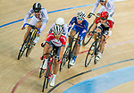 Choi Kwan Lok of the SCAA competes in Men Junior - Omnium IV Points Race 20KM during the Hong Kong Track Cycling National Championship 2017 on 25 March 2017 at Hong Kong Velodrome, in Hong Kong, China. Photo by Marcio Rodrigo Machado / Power Sport Images