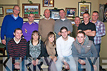 JJ Galvin  Xmas Party: Staff of John J Galvin & Sons Ltd. Listowel  enjoying their Xmas party at The Kingdom Bar, Listowel on Saturday night last, Front : Mike Kelliher, Marian Collins, Laura Collins, Brendan Sweeney & Martin  Sweeney. Back : John Galvin, Mike Quinn, Sean carey, Kevin Enright, Peter O'Sullivan, Brian Ahern & Barry Slemon.