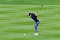 Brittany Altomare (USA) on the 1st fairway during Day 3 Singles at the Solheim Cup 2019, Gleneagles Golf CLub, Auchterarder, Perthshire, Scotland. 15/09/2019.<br /> Picture Thos Caffrey / Golffile.ie<br /> <br /> All photo usage must carry mandatory copyright credit (© Golffile | Thos Caffrey)