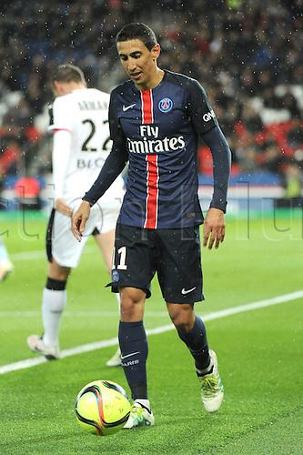 29.04.2016. Paris, France. French league 1 football. Paris St German versus Rennes.  ANGEL DI MARIA (psg)