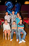 Mark Fitzpatrick celebrates his 21st in the Star and Crescent with his family..Picture: Shane Maguire / www.newsfile.ie.