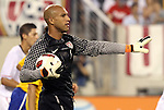10 AUG 2010: Tim Howard (USA). The United States Men's National Team lost to the Brazil Men's National Team 0-2 at New Meadowlands Stadium in East Rutherford, New Jersey in an international friendly soccer match.